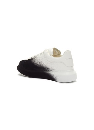 - ALEXANDER MCQUEEN - 'Oversized Sneaker' in flocked leather