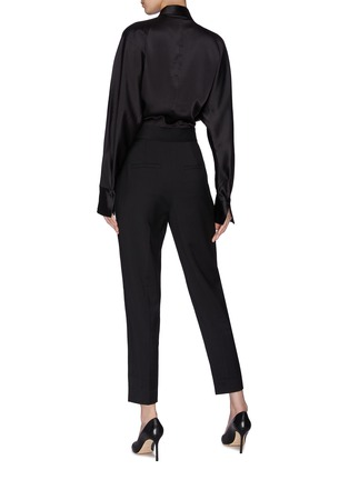 Back View - Click To Enlarge - EQUIPMENT - 'Carlens' patchwork jumpsuit