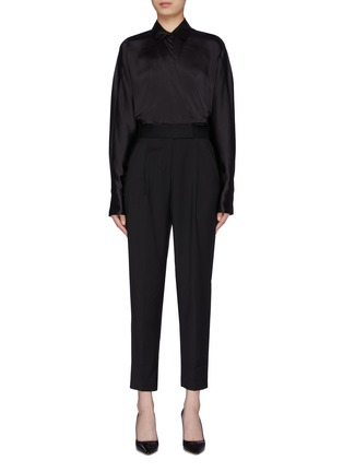 Main View - Click To Enlarge - EQUIPMENT - 'Carlens' patchwork jumpsuit