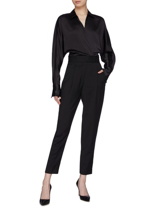 Figure View - Click To Enlarge - EQUIPMENT - 'Carlens' patchwork jumpsuit