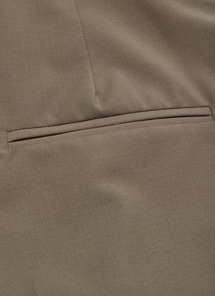 - CHRISTOPHER ESBER - Detachable belt loop waist panel suiting pants