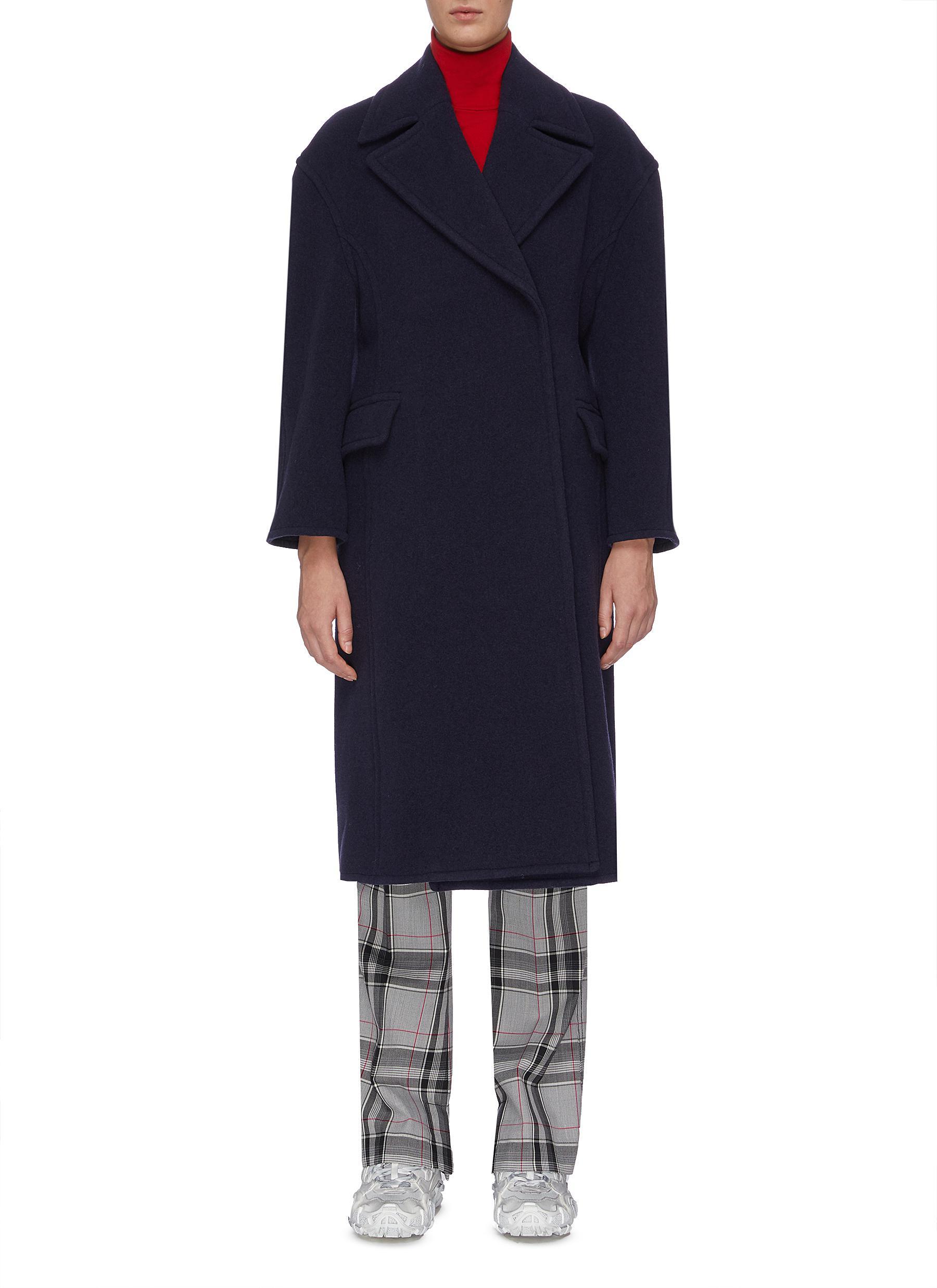 Wool-blend coat by Acne Studios