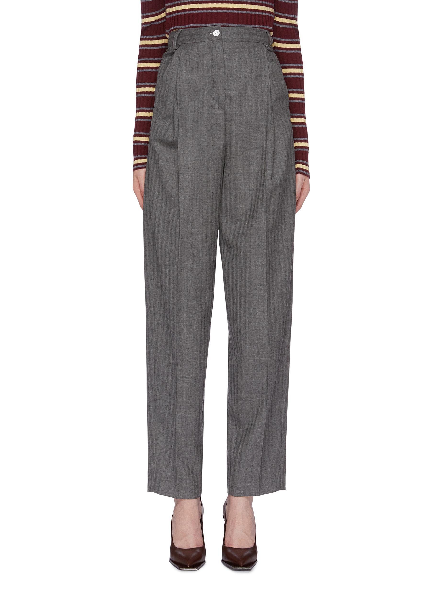 Herringbone suiting pants by Acne Studios