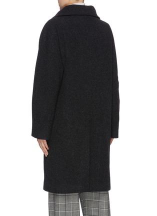 Back View - Click To Enlarge - ACNE STUDIOS - Melton coat