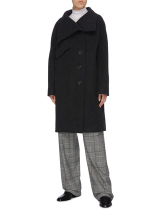 Figure View - Click To Enlarge - ACNE STUDIOS - Melton coat