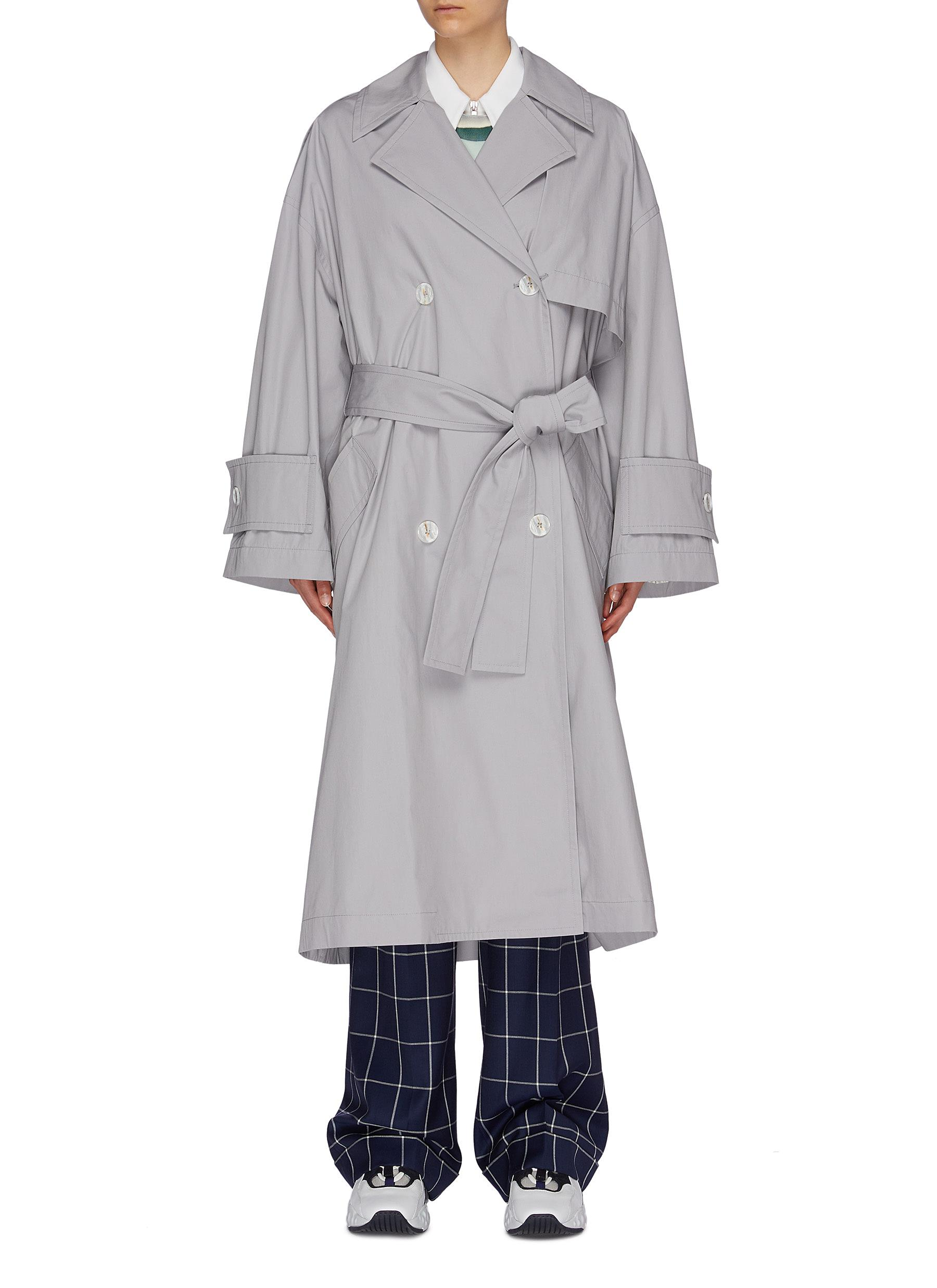 Oversized trench coat by Acne Studios