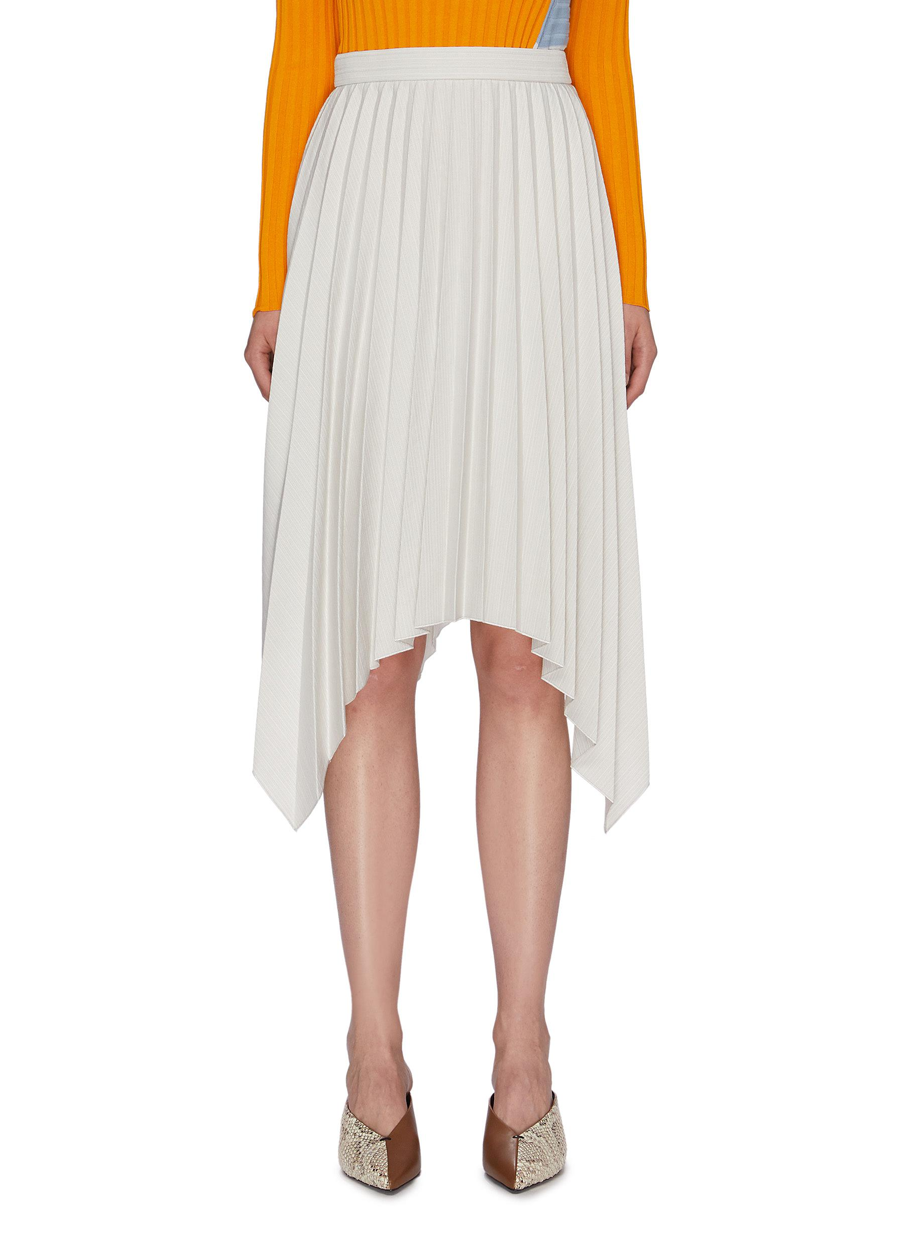 Handkerchief pleated skirt by Acne Studios