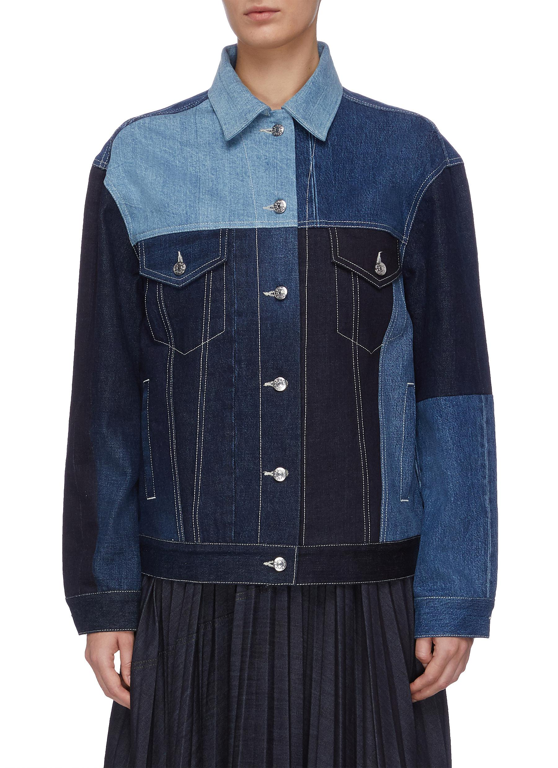 Panelled denim jacket by Acne Studios