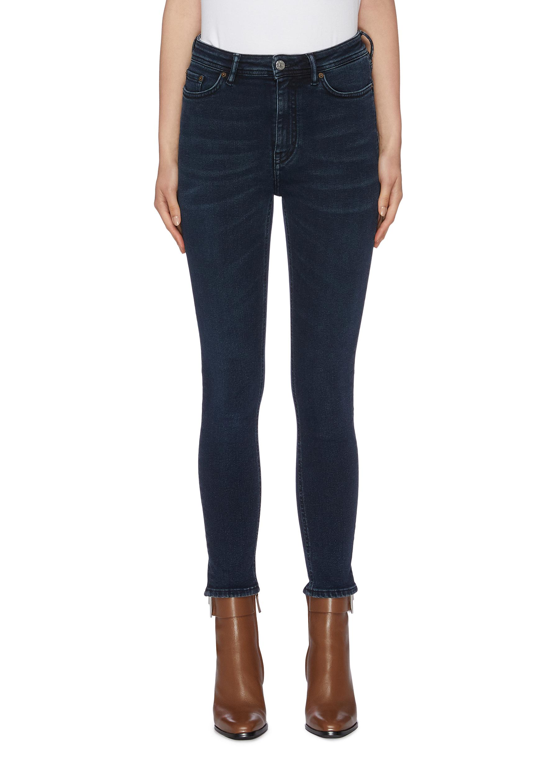 Peg washed skinny jeans by Acne Studios