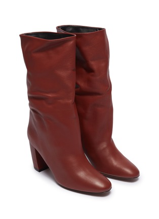Detail View - Click To Enlarge - NEOUS - 'Ophrys' leather knee high boots