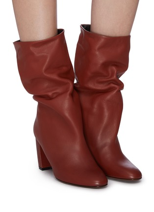 Figure View - Click To Enlarge - NEOUS - 'Ophrys' leather knee high boots