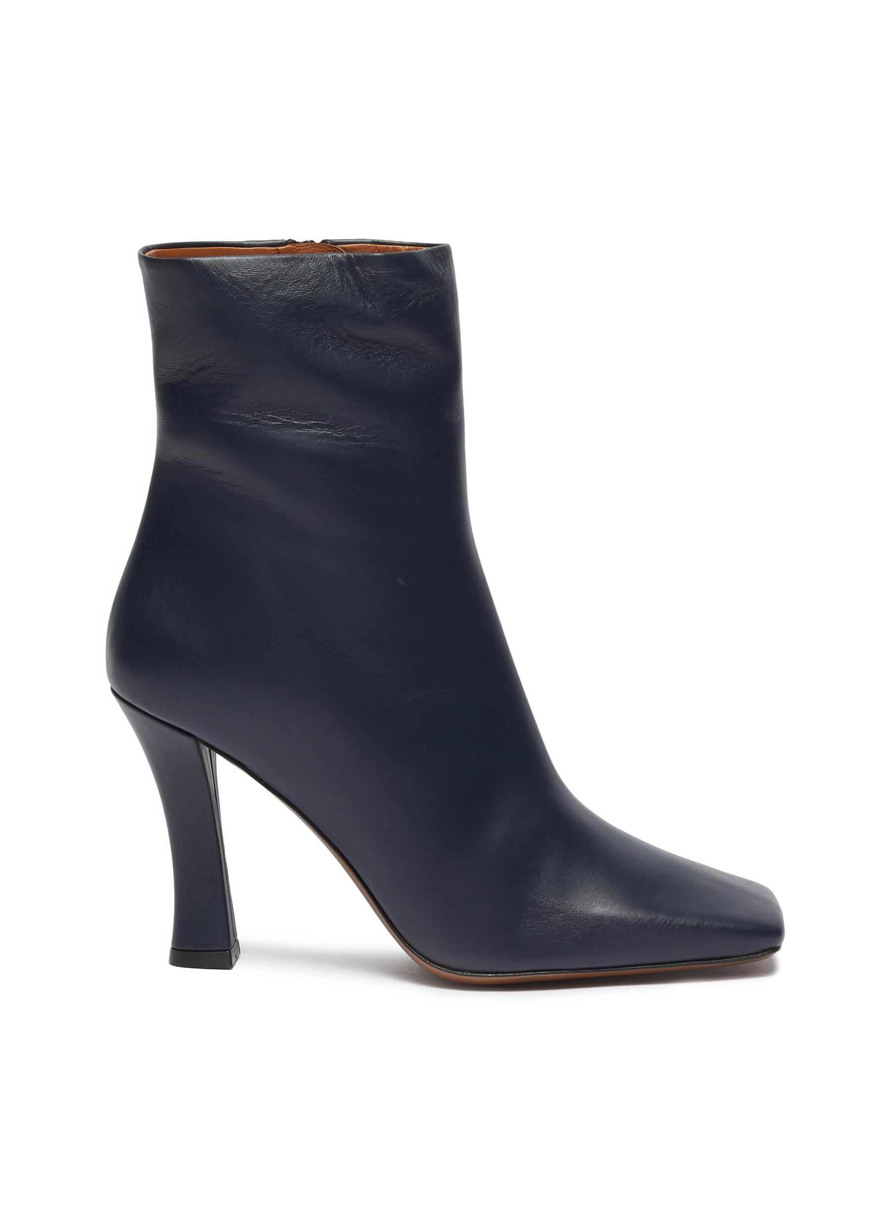 Ionopsis leather ankle boots by Neous