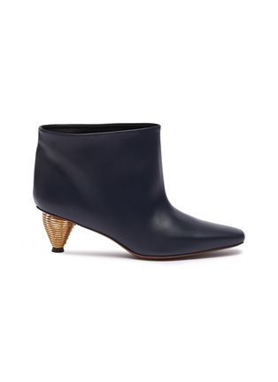 Main View - Click To Enlarge - NEOUS - 'Octo' leather ankle boots