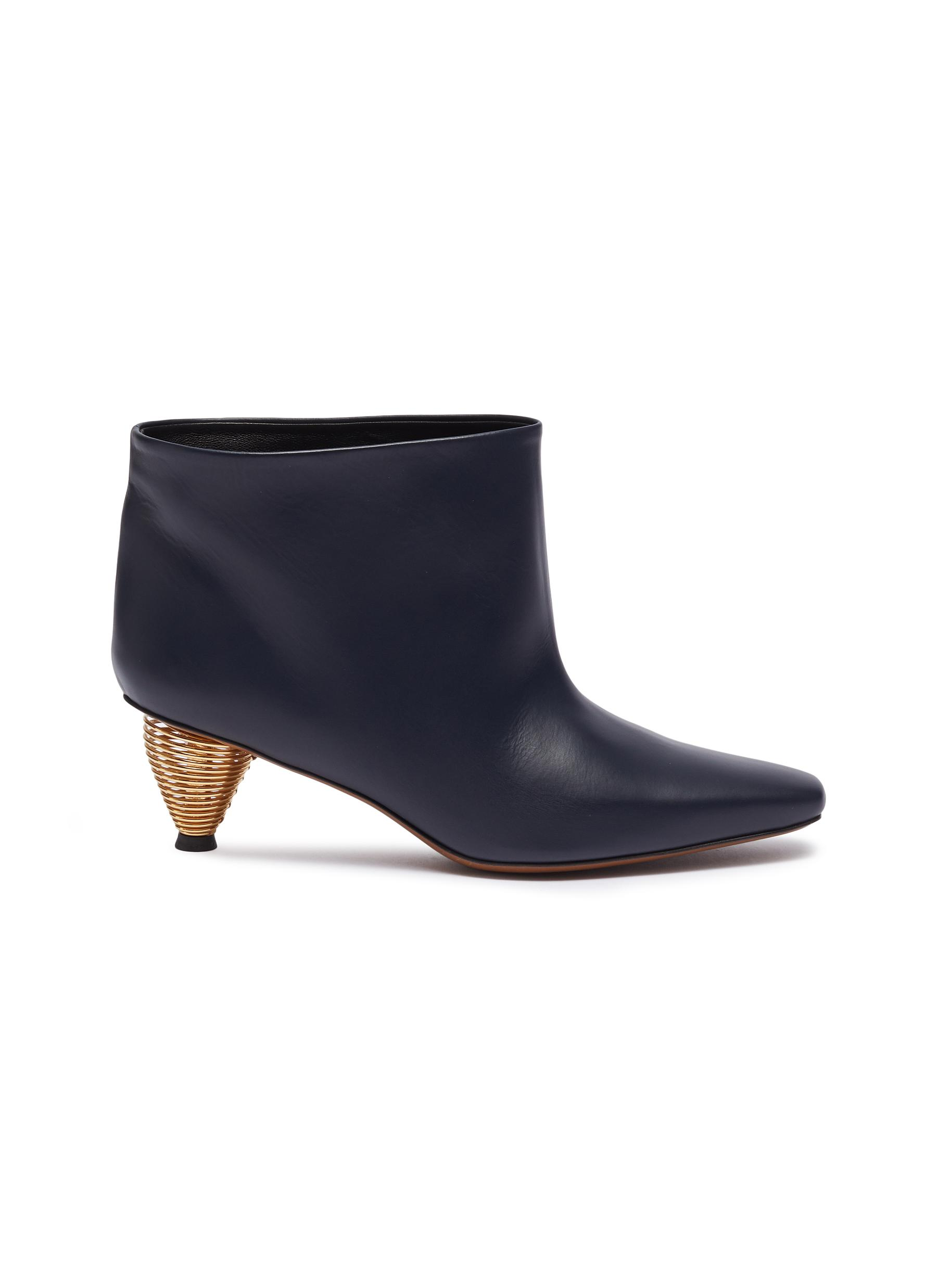 Octo leather ankle boots by Neous