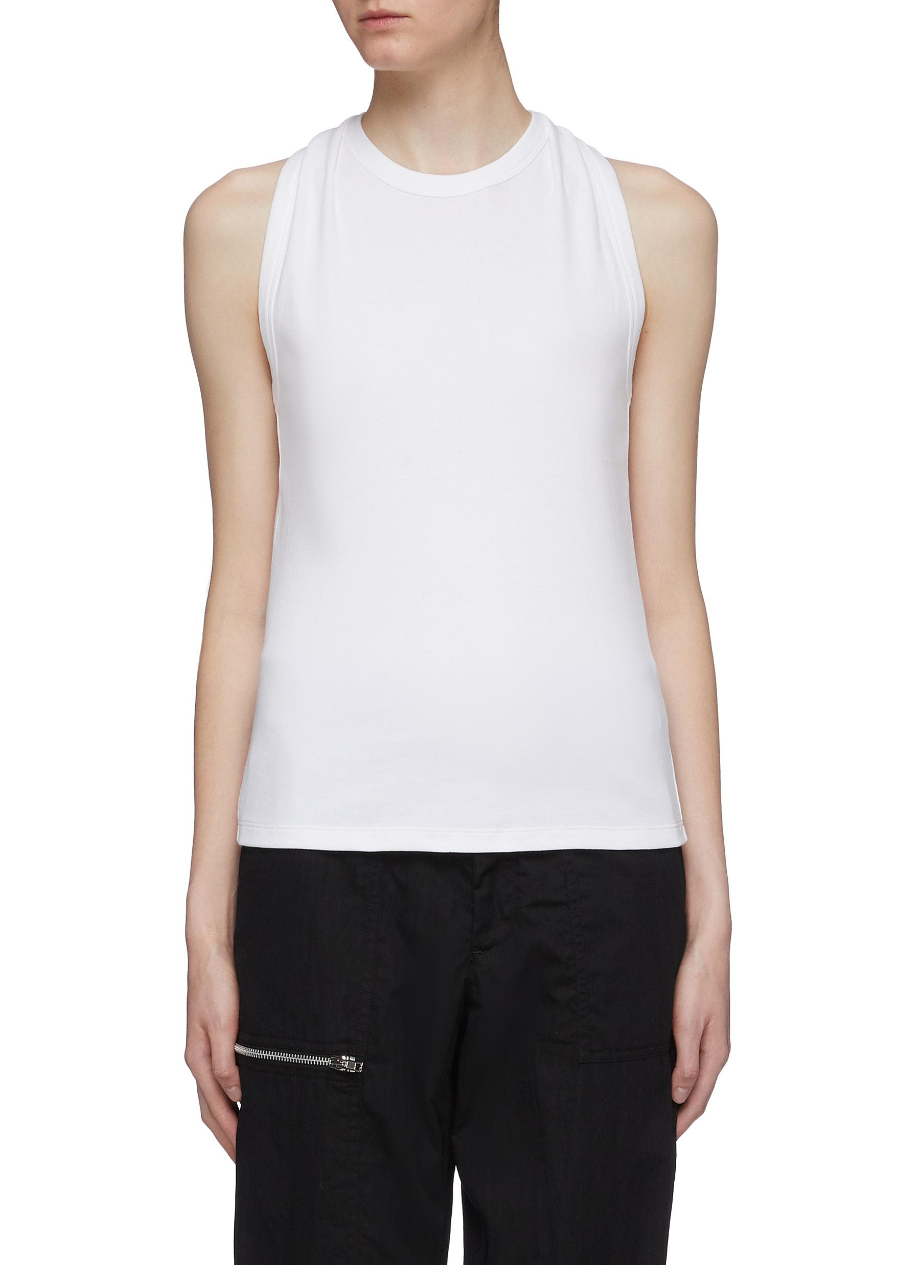 Twist racerback tank top by Helmut Lang