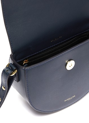 Detail View - Click To Enlarge - DEMELLIER - 'The Mini Oslo' leather saddle bag