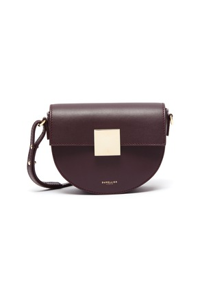 Main View - Click To Enlarge - DEMELLIER - 'The Mini Oslo' leather saddle bag