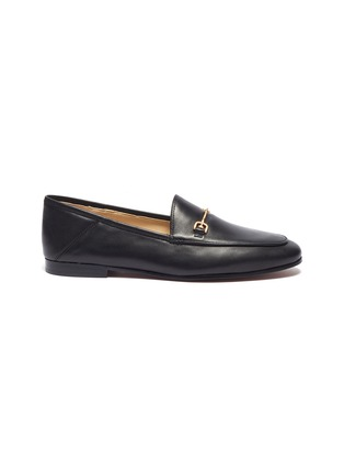 Main View - Click To Enlarge - SAM EDELMAN - Loraine' horsebit leather step-in loafers