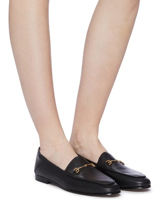 Figure View - Click To Enlarge - SAM EDELMAN - Loraine' horsebit leather step-in loafers