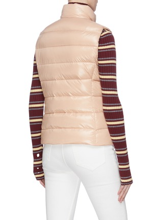 Back View - Click To Enlarge - MONCLER - 'Ghany' down puffer vest