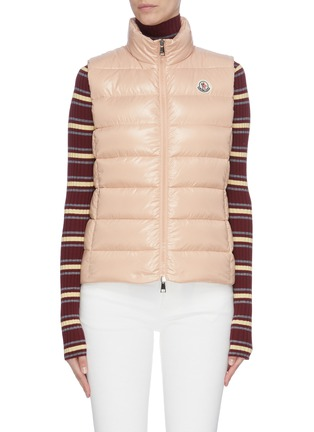Main View - Click To Enlarge - MONCLER - 'Ghany' down puffer vest