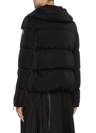 Back View - Click To Enlarge - MONCLER - 'Bandama' detachable hood down puffer jacket