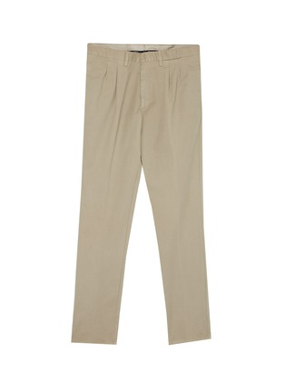 Main View - Click To Enlarge - LARDINI - Pleated twill pants