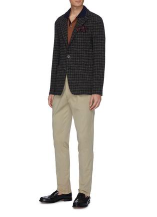 Figure View - Click To Enlarge - LARDINI - Pleated twill pants