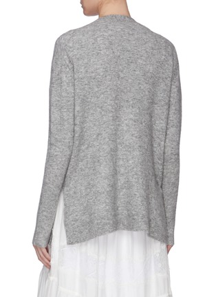 Back View - Click To Enlarge - 3.1 PHILLIP LIM - Faux pearl button cardigan