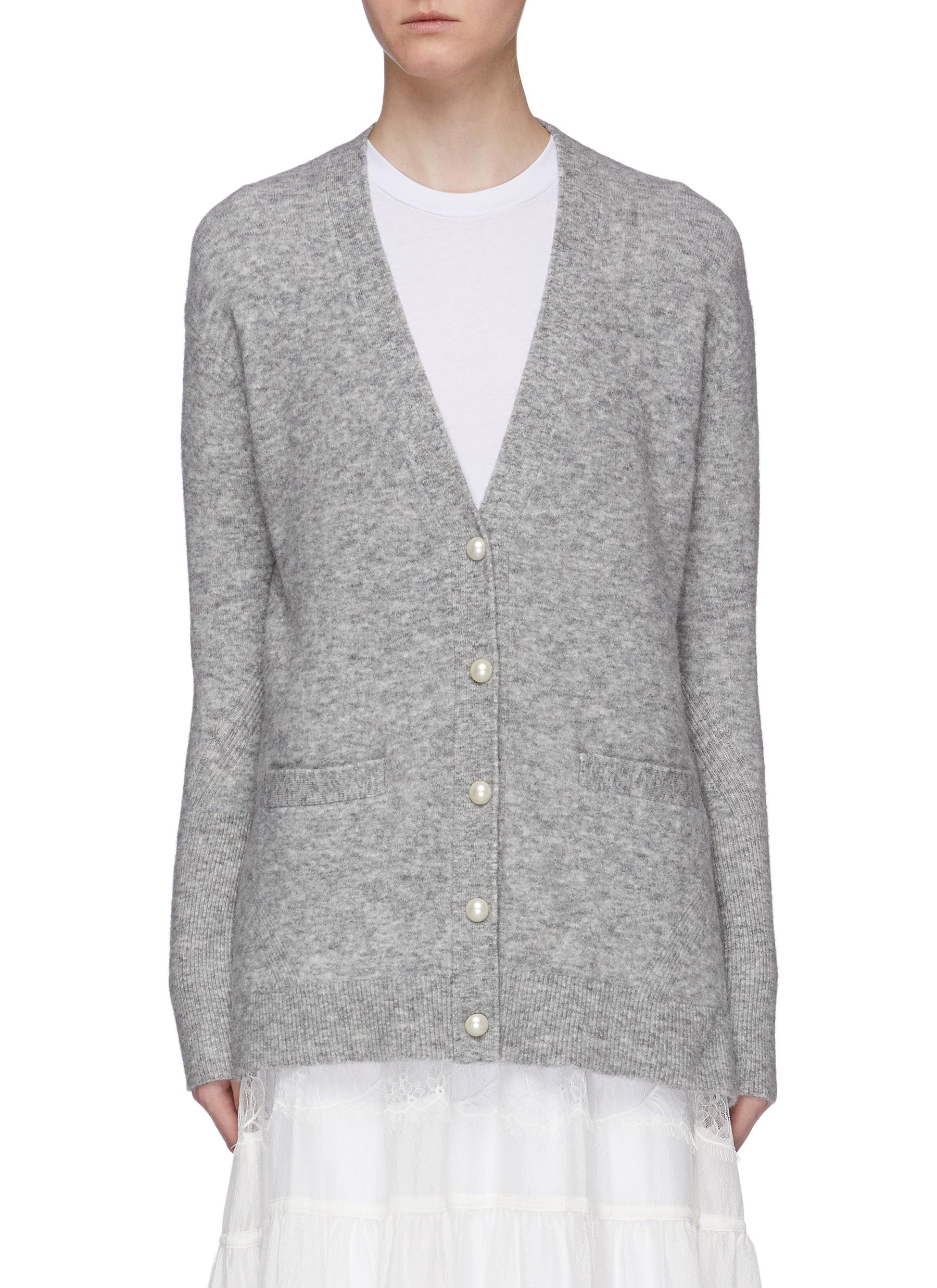 Faux pearl button cardigan by 3.1 Phillip Lim