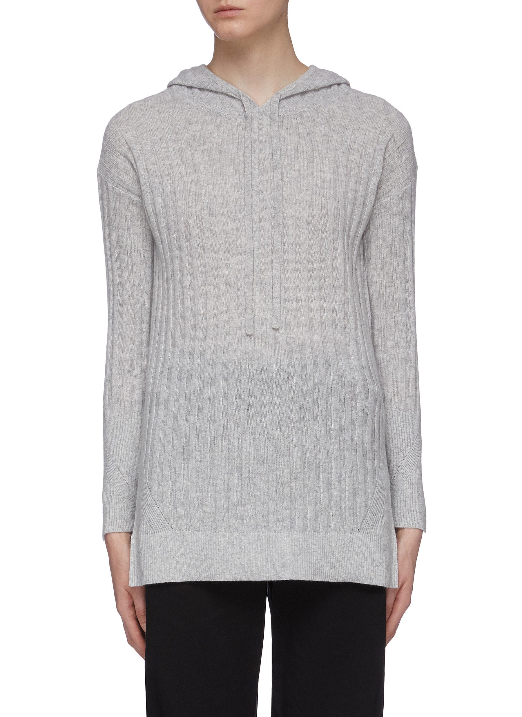 Cashmere rib knit hoodie by 3.1 Phillip Lim
