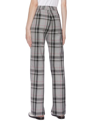 Back View - Click To Enlarge - 3.1 PHILLIP LIM - Houndstooth check plaid pants