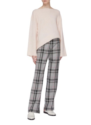 Figure View - Click To Enlarge - 3.1 PHILLIP LIM - Houndstooth check plaid pants