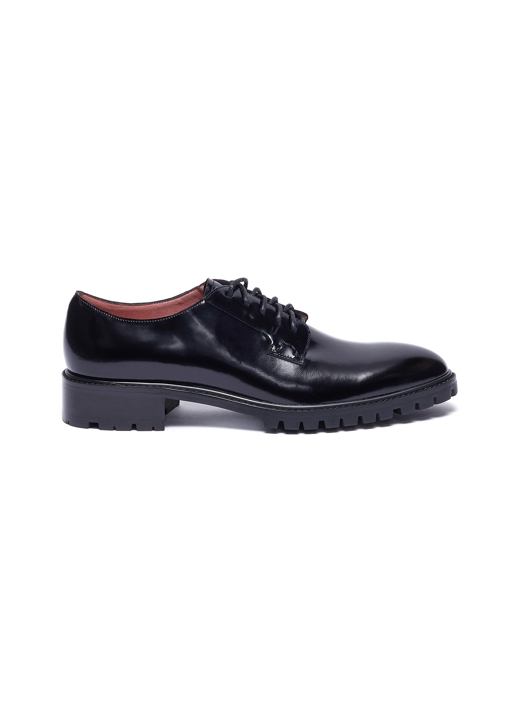 Scott leather oxfords by Pedder Red