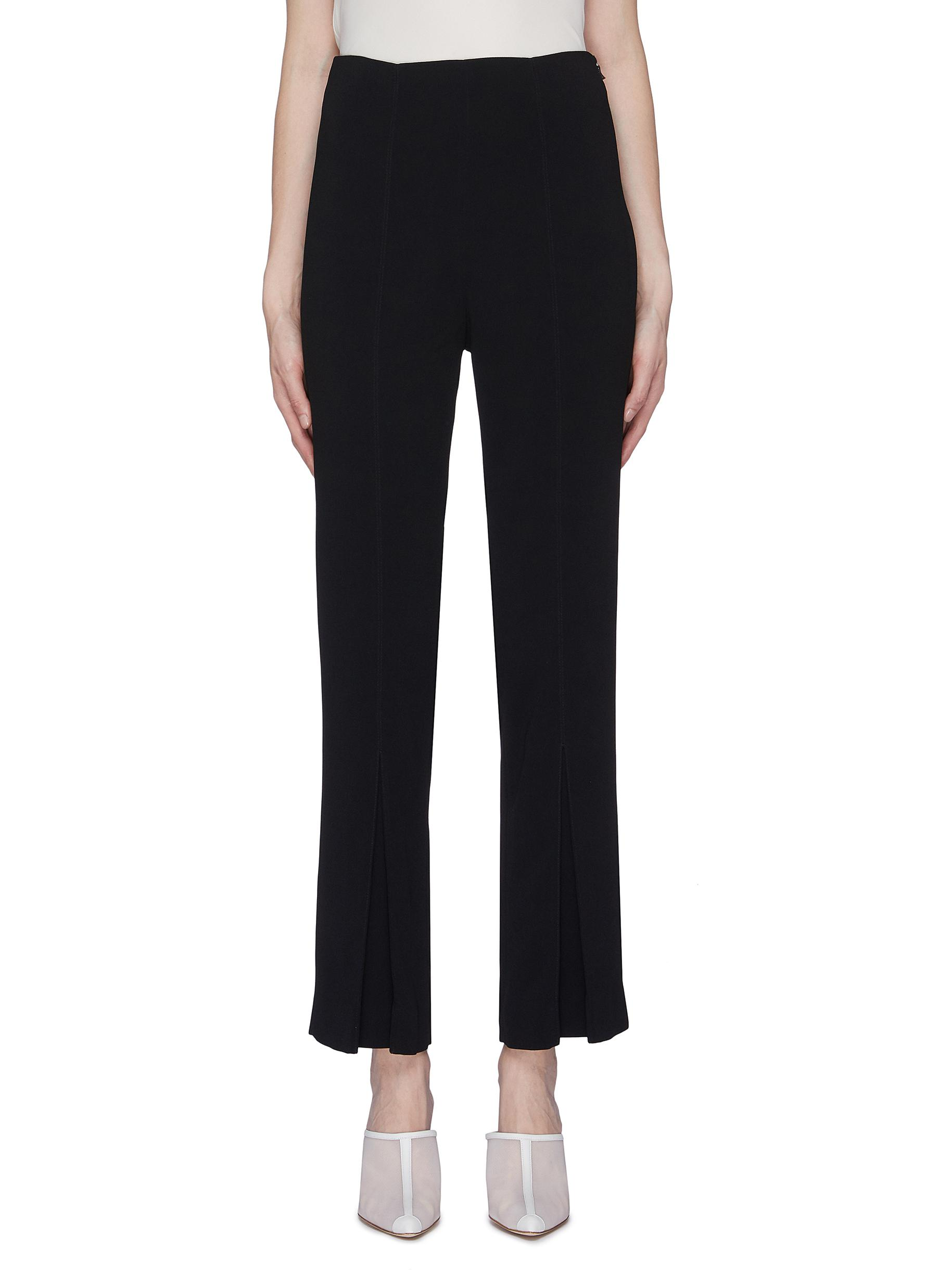Salthill box pleated cuff pants by Roland Mouret