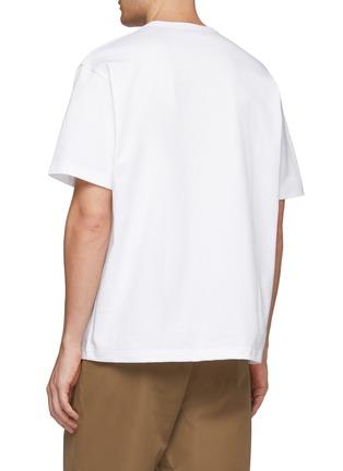 Back View - Click To Enlarge - KOLOR - 'New Kolor' Japanese slogan print T-shirt