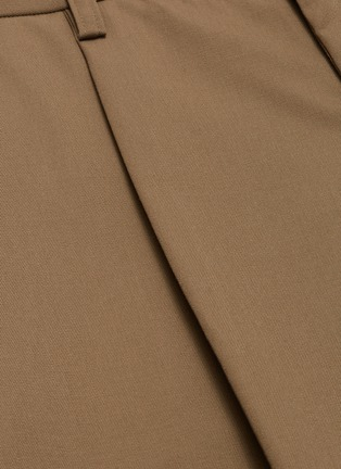 - KOLOR - Pleated wool pants