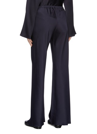 Back View - Click To Enlarge - THE ROW - 'Gala' silk cady wide leg pants