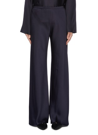 Main View - Click To Enlarge - THE ROW - 'Gala' silk cady wide leg pants