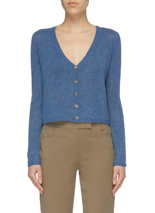 Main View - Click To Enlarge - THE ROW - 'Abigael' cropped cashmere cardigan