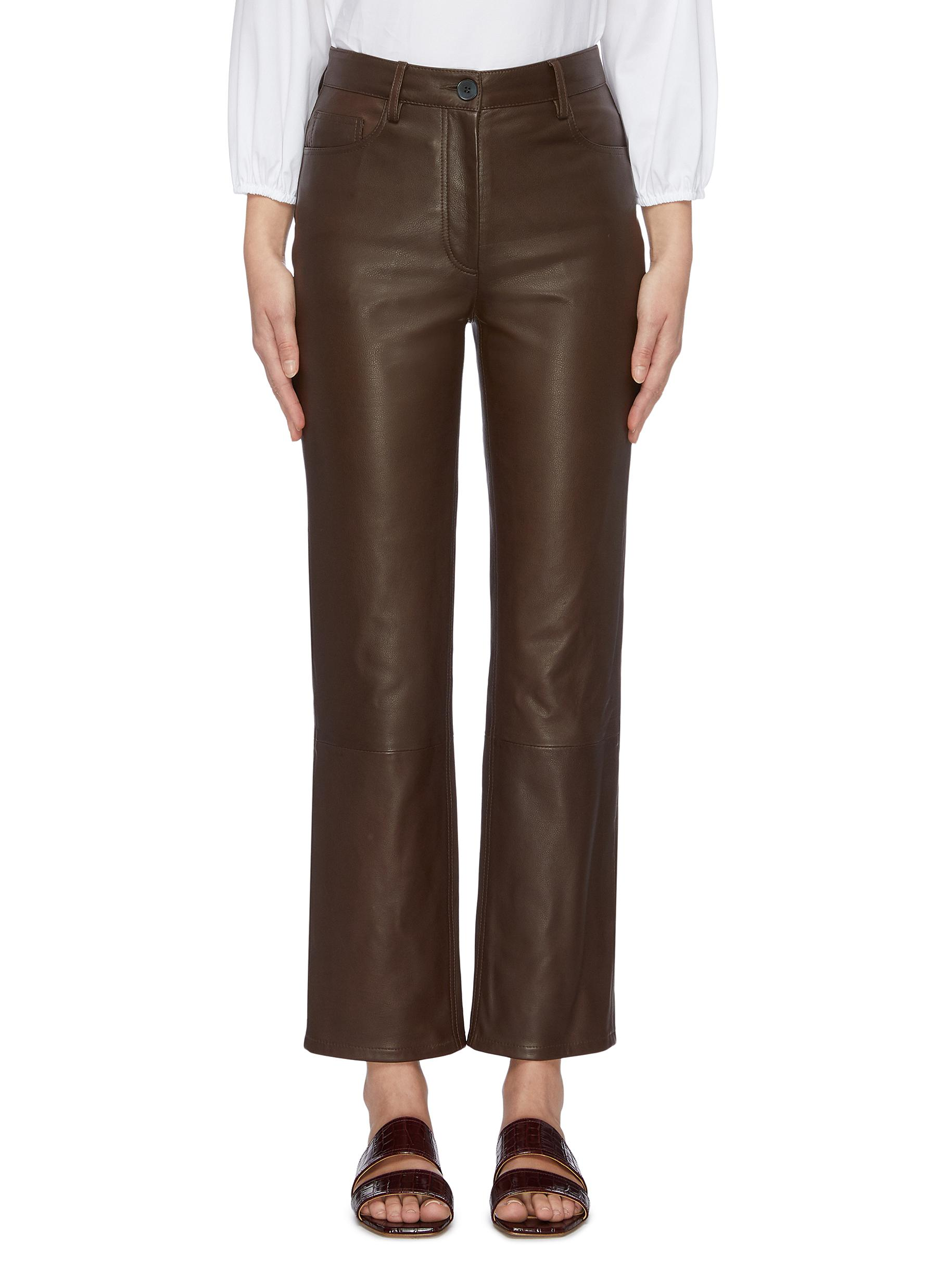 Charlee leather pants by The Row