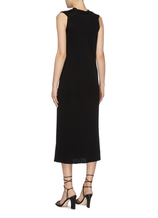 Back View - Click To Enlarge - THE ROW - 'Bowen' sleeveless silk-cotton knit dress