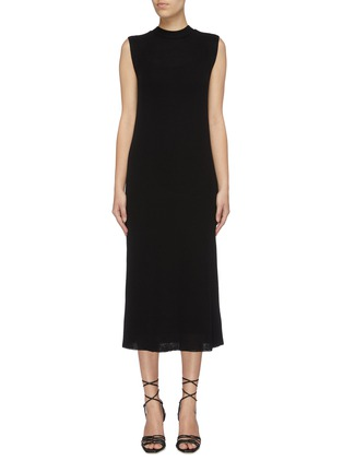 Main View - Click To Enlarge - THE ROW - 'Bowen' sleeveless silk-cotton knit dress