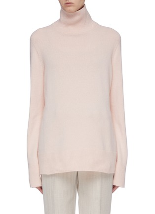Main View - Click To Enlarge - THE ROW - 'Milina' wool-cashmere turtleneck sweater