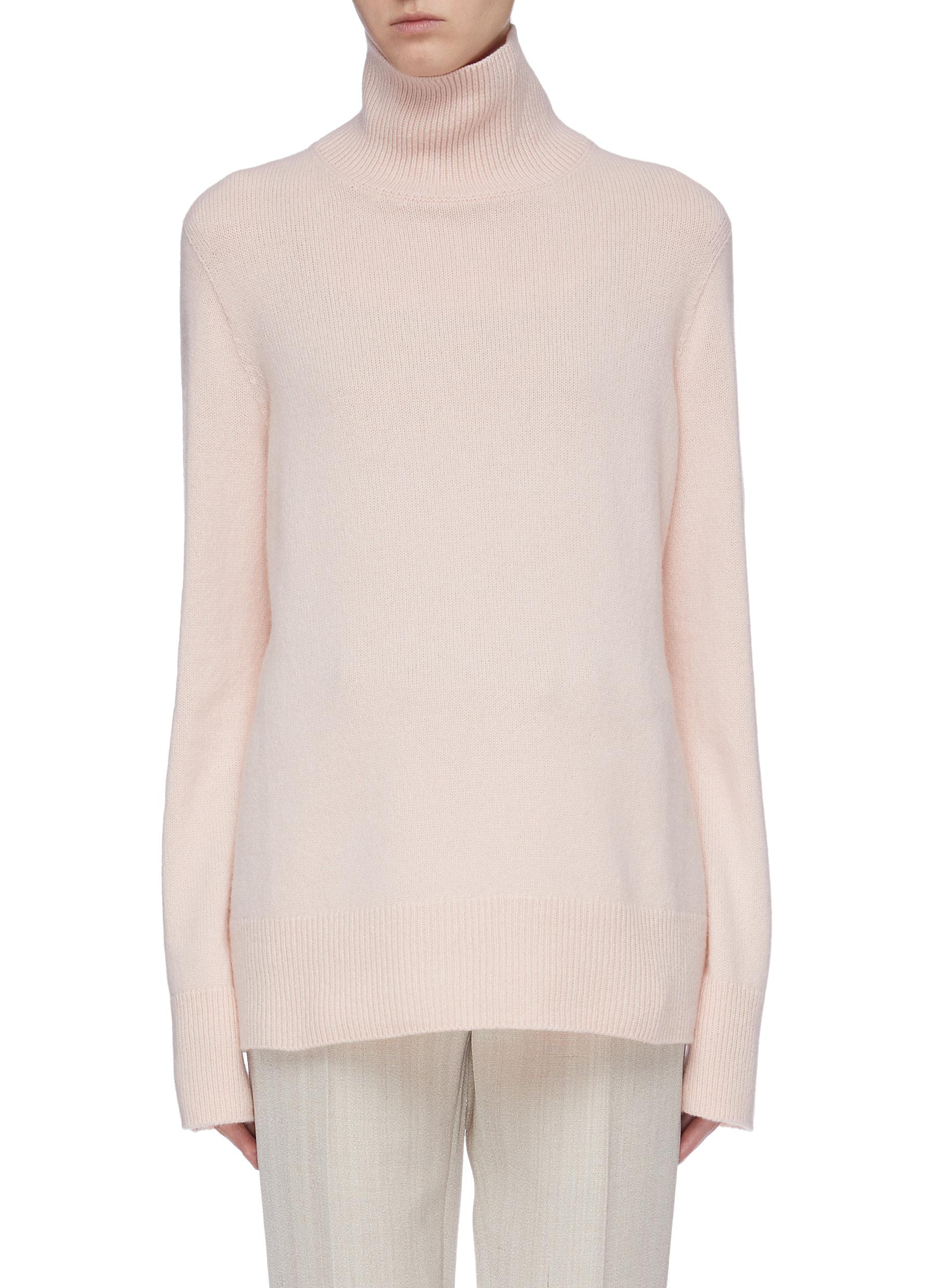 Milina wool-cashmere turtleneck sweater by The Row