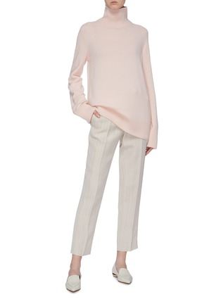 Figure View - Click To Enlarge - THE ROW - 'Milina' wool-cashmere turtleneck sweater