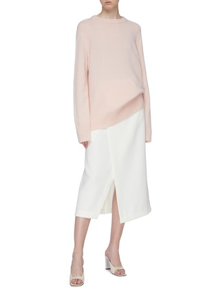 Figure View - Click To Enlarge - THE ROW - 'Sibina' wool-cashmere sweater
