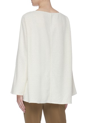 Back View - Click To Enlarge - THE ROW - 'Luida' bouclé knit tunic top