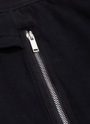 - BEN TAVERNITI UNRAVEL PROJECT  - Logo tape drop crotch jogging pants