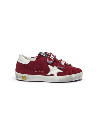 Main View - Click To Enlarge - GOLDEN GOOSE - 'Old School' suede toddler sneakers